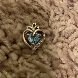 Jewelry - Sterling silver blue topaz pendant